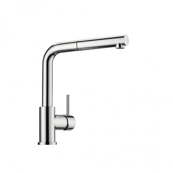 Naber 5011252, LINEA Arco2, chrom, Hochdruck, Einhebelmischer, Wasserhahn, Standhahn. Armatur, Schwenkarm, Erkelenz