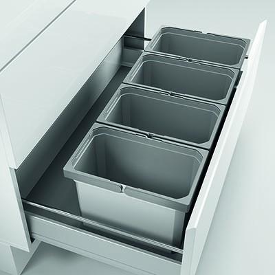 Naber, 8012457, Cox® Box 235 K/900-4, mit Biodeckel, hellgrau, Erkelenz