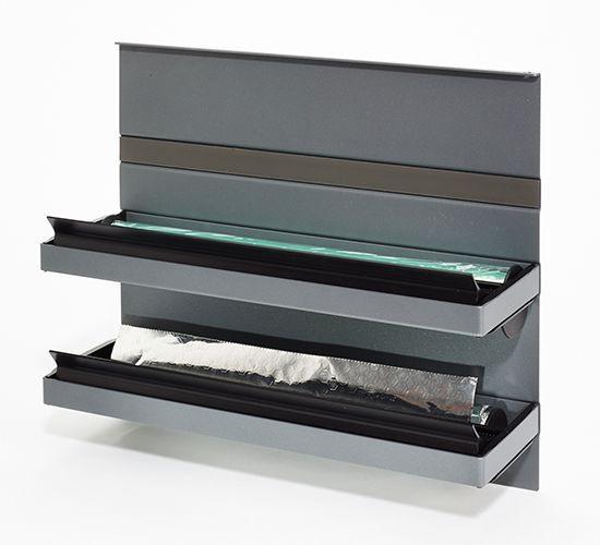 Naber, 8045013, Linero MosaiQ, Rollenhalter, graphitschwarz, Erkelenz