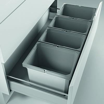 Naber, 8012481, Cox® Box 275 K/900-4, mit Biodeckel, hellgrau, Erkelenz