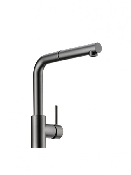 Naber 5011263, LINEA Arco2, graphit, Hochdruck, Einhebelmischer, Wasserhahn, Standhahn. Armatur, Schwenkarm, Erkelenz