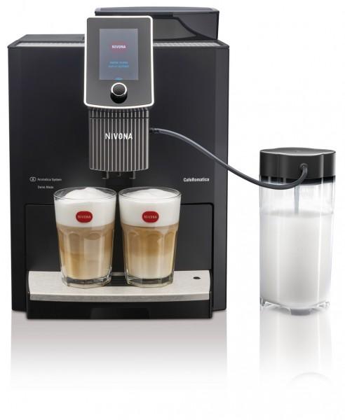 NIVONA NICR1030, Espressoautomat Kaffee/Espresso/Cappuccino, Thermoblock-System 15bar  schwarz