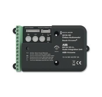 Busch-Jaeger 83110-101 Einbau-Audiomodul, Türkommunikation, Außenstationen