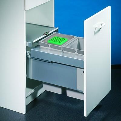 Nabe, 8012313, Cox® Base 360 S/400-2, mit Biodeckel, hellgrau, H 360 mm, Erkelenz