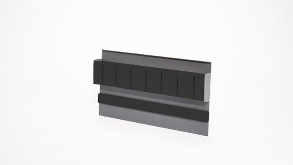 Naber, 8045011, Linero MosaiQ, Magnet- Messerhalter 2, graphitschwarz, Erkelenz