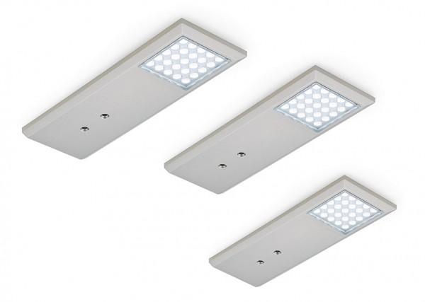 Naber, 7061172, Intorno L, Farbwechsel, LED, Set-3, mit LED, Touch, Schalter, Erkelenz