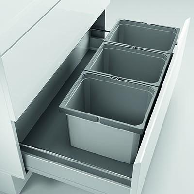 Naber, 8012454, Cox® Box 235 K/900-3, ohne Biodeckel, hellgrau, Erkelenz