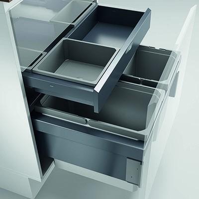 Naber, 8013374, Cox® Base 360 S/600-3 mit Base-Board ohne Biodeckel, anthrazit, Erkelenz