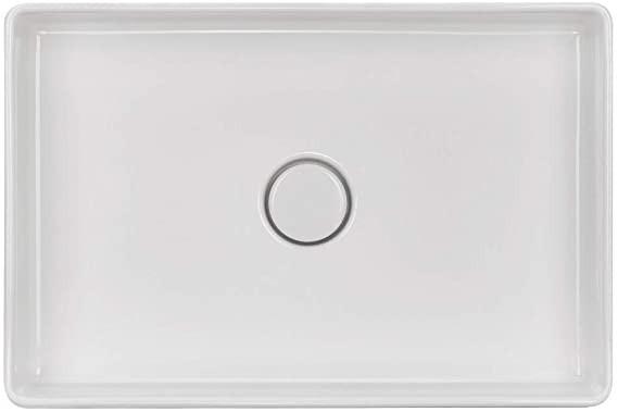 Naber Lavara 60 Aufsatzwaschbecken eckig weiß, Erkelenz