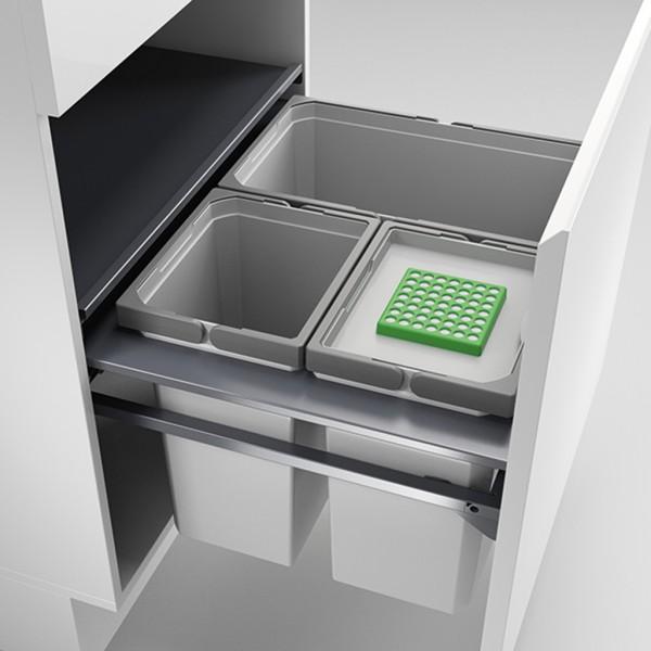 Naber, 8012610, Cox Cast® 600-3, mit Biodeckel, hellgrau, H 360 mm, Erkelenz