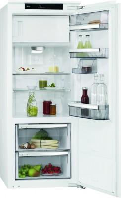 AEG Santo SFE81436ZC Einbau-Kühlschrank mit Gefrierfach weiß / A+++