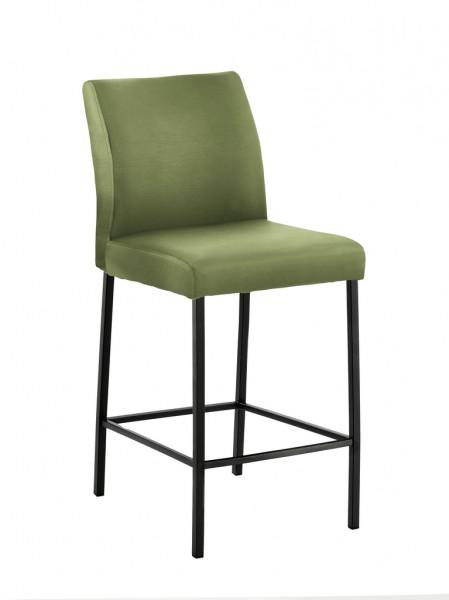 Naber 3038155 Barile 2L, Gestell schwarz, Bezug grün, Erkelenz