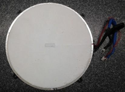 Miele KM5955 EDST/D Spule-Platte 145mm hinten/links T.-Nr.: 8230401