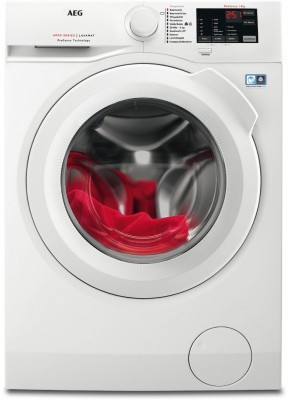AEG Lavamat L6FB50489 Stand-Waschmaschine-Frontlader weiß / A+++