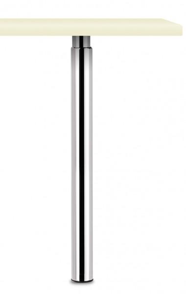 Naber, 3011081, Trampolo 50 rund, edelstahlfarbig, H 705 - 885 mm, Erkelenz