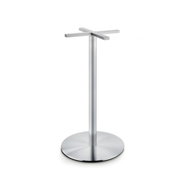 Naber 3033192, Gliera S/R, Tischgestell,rund,Edelstahl,für Tischplatte 900mm, Erkelenz
