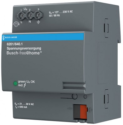 Busch-Jaeger 6201/640.1 Spannungsversorgung, Busch-free@home, Systemkomponenten