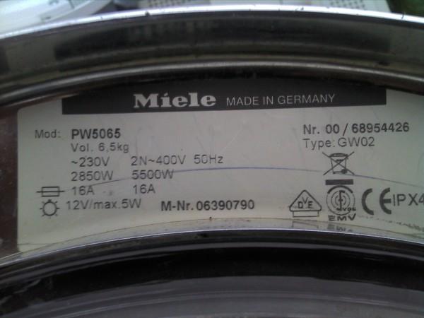 Miele PW 5065 LP Drucktastenschalter 2.12900.222/0912 T.Nr.: 5869810
