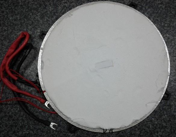 Miele KM5955 EDST/D Spule-Platte 210mm vorne/links T.-Nr.: 8240761