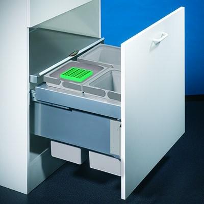 Naber, 8012315, Cox® Base 360 S/600-3, ohne Biodeckel, hellgrau, H 360 mm, Erkelenz