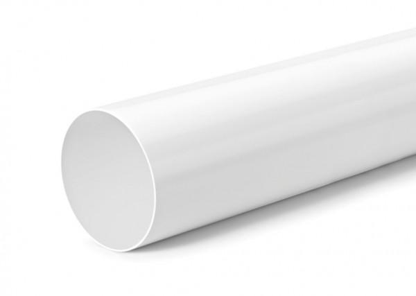 Naber, 4021118, Rohr 125, weiß, L 500 mm, Erkelenz