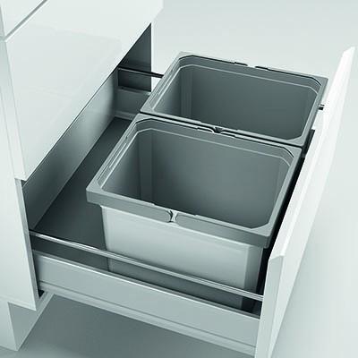 Naber, 8012450, Cox® Box 235 K/600-2, ohne Biodeckel, hellgrau, Erkelenz