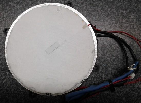 Miele KM5955 EDST/D Spule-Platte 180mm vorne/rechts T.-Nr.: 8230411