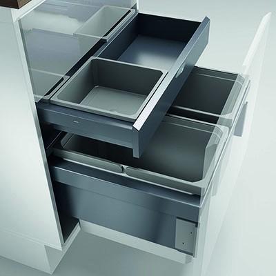 Naber, 8012373, Cox® Base 360 S/600-2 mit Base-Board, hellgrau, H 460 mm, Erkelenz