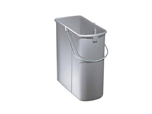 Naber, 8010136, Ersatzeimer, 19 Liter, Alu grau, Erkelenz