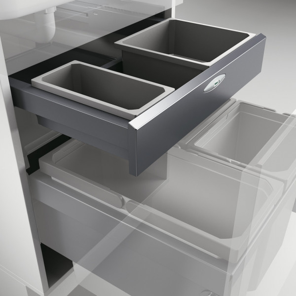 Naber, 8012366, Cox Base-Board® 600, mit reduzierter Rückwand, Abfallsammler, Erkelenz
