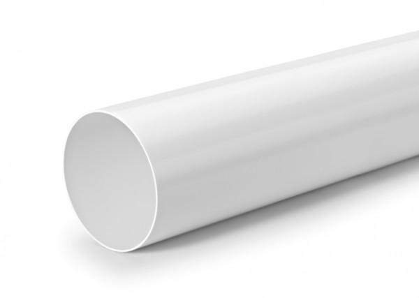 Naber, 4052102, R-1000 System 150 Rundrohr, weiß, Erkelenz