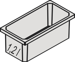 Naber, 8013363, Aufbewahrungsbox, anthrazit, Erkelenz