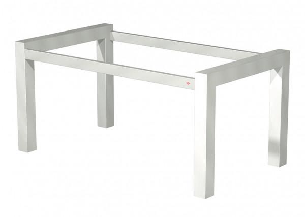 Naber 3032200, Tischgestell Tablon 1/T20, edelstahlfarbig glatt, Untergestell, Tisch, Tischplatte, Erkelenz