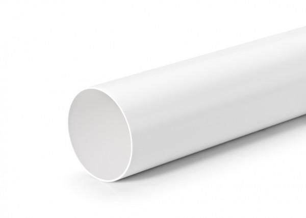 Naber, 4011018, Rundrohr 100, weiß, L 350 mm, Erkelenz
