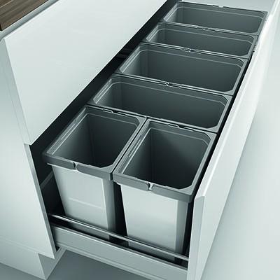 Naber, 8012427, Cox® Box 350 S/1200-6, ohne Biodeckel, hellgrau, Erkelenz