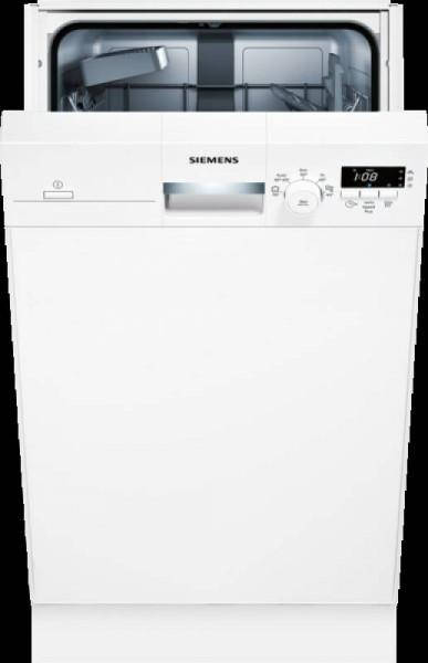 Siemens, SR315W03CE, Geschirrspüler, Unterbau, dekorfähig, weiß, Besteckkorb, H815mm, 9Gedecke, Erkelenz