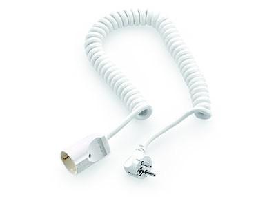 Naber, 7011044, Spiralverbindungsleitung, weiß, Erkelenz