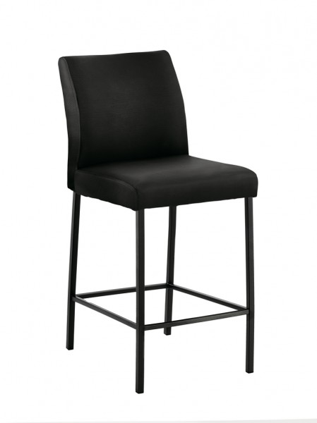 Naber 3038150 Barile 2L, Gestell schwarz, Bezug schwarz, Erkelenz