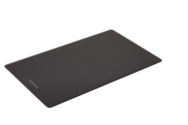 Nabern 1015003, Chiave 1 Schneidebrett aus Glas schwarz, Einbaubecken, Einbauspüle, Spülbecken, Erkelenz