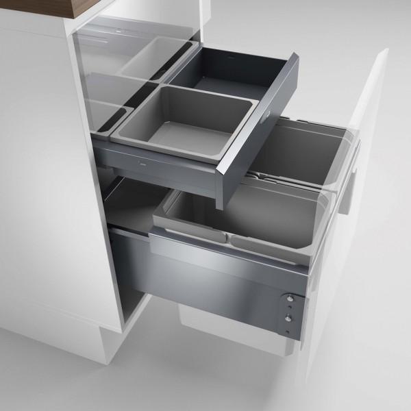Naber, 8012800, Cox® Base 360 K/500-2 mit Base-Board, ohne Biodeckel, anthrazit, H 460 mm, Erkelenz