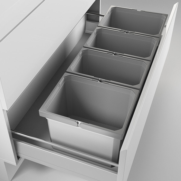 Naber, 8012483, Cox® Box 275 K/1000-4, mit Biodeckel, hellgrau, Erkelenz