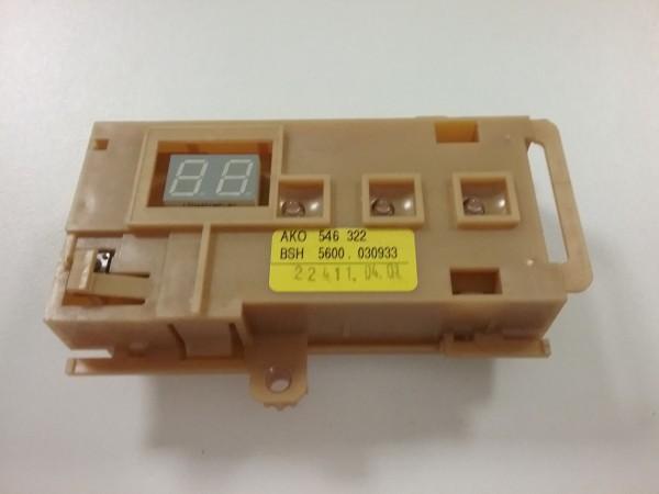 Siemens SE56590 Geschirrspüler - Elektronik-Steuerung 5600.030.933