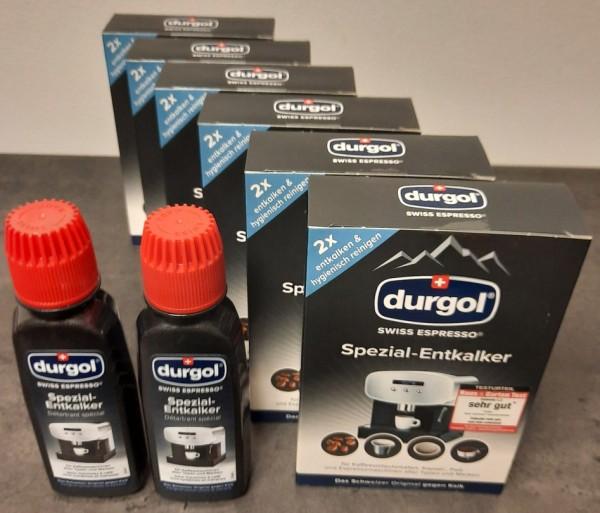 Durgol Swiss Spezial Espresso 4 Entkalker Flaschen a 125ml, Erkelenz