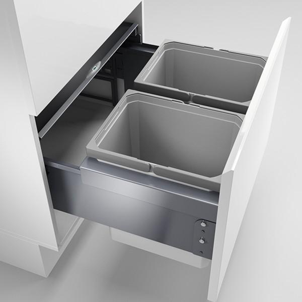 Naber, 8012403, Cox® Base 360 K/600-2, mit Biodeckel, anthrazit, H 360 mm, Erkelenz