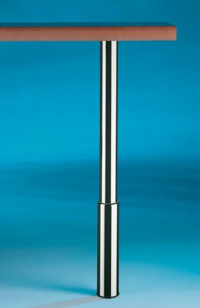 Naber, 3011051, Trampolo 1 rund, edelstahlfarbig, H 620 - 800 mm, Erkelenz