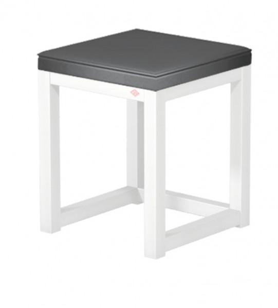 Naber, 3032106, Sitzfläche, Kunstleder, für Hockergestell, H110, Bezug, schwarz, Erkelenz