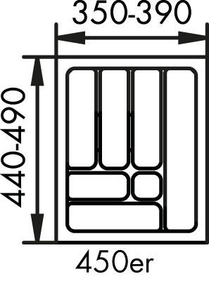 Naber, 8034126, Besteckeinsatz 1, für 450er, Schrank, Erkelenz