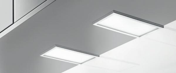 Naber, 7062186, Piatto LED, Set-2, 3000 K warmweiß, Unterbodenleuchte, Erkelenz