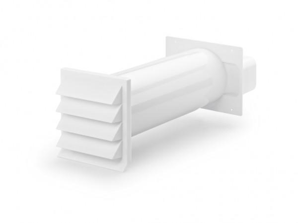 Naber 4044050, K-Klima-R flow 150 Mauerkasten, weiß, Erkelenz