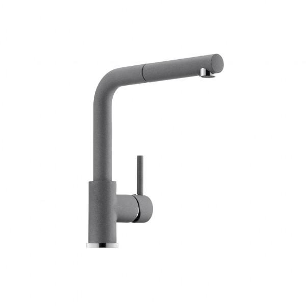 Naber, 1100413, Gramix 2, Hochdruck-Armatur, granit, metallico, Erkelenz